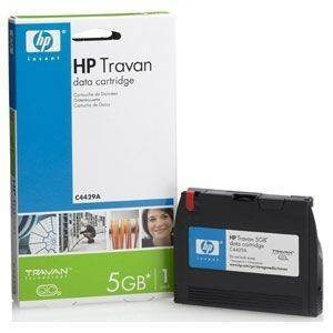 DATA CARTRIDGE HEWLETT PACKARD 1/8'' TRAVAN 2.5-5.0GB -COLORADO 5GB ΜΕ OEM: C4429A