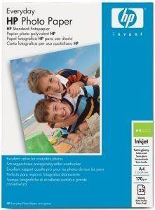 ΓΝΗΣΙΟ ΧΑΡΤΙ HEWLETT PACKARD A4 ΕVERYDAY PHOTO SEMI - GLOSSY PAPER 25 ΦΥΛΛΑ ΜΕ OEM: Q5451A