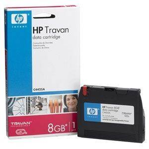 DATA CARTRIDGE HEWLETT PACKARD 1/8'' TRAVAN TR4 - 4.0GB - QIC3080/95 ΜΕ OEM: C4425A