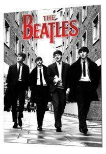 3D POSTER THE BEATLES ΙΝ LONDON 47 X 67 CM
