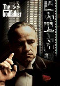 3D POSTER THE GODFATHER - FILM STRIP 47 X 67 CM