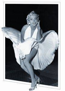 3D POSTER MARILYN MONROE DRESS 47 X 67 CM