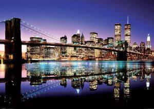 POSTER BROOKLYN BRIDGE 100X140CM