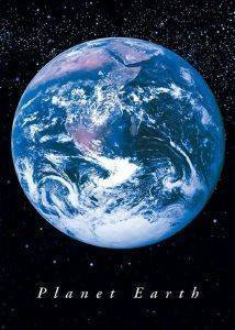 POSTER PLANET EARTH  61 X 91.5 CM
