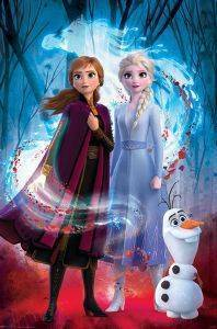 POSTER FROZEN 2 GUIDED SPIRIT 61 X 91.5 CM