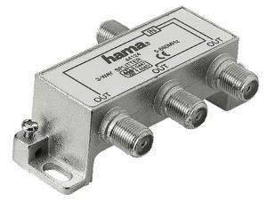 HAMA 44124 CATV INDOOR SPLITTER 3-W