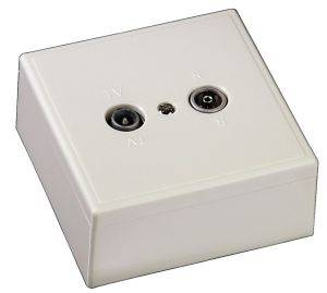 HAMA 43980 AERIAL SOCKET RADIO/TV