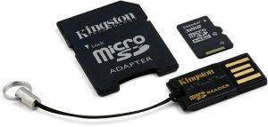 KINGSTON MBLY10G2/32GB 32GB MICROSDHC CLASS 10 + SD ADAPTER + USB ADAPTER