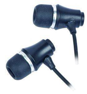 GEMBIRD MP3-EP01B MP3 STEREO EARPHONES GOLD-PLATED 3.5MM JACK METAL BLACK
