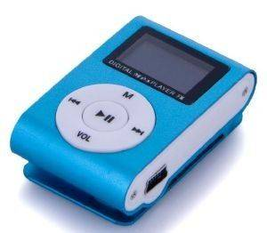 SETTY MP3 PLAYER WITH LCD + EARPHONES BLUE SLOT