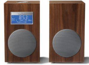 TIVOLI MODEL 10 M10CWL CONTEMPORARY COLLECTION WITH STEREO SPEAKERS WALNUT/ SILVER