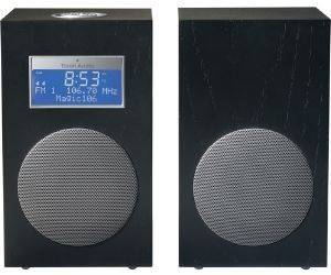 TIVOLI MODEL 10 M10CMB CONTEMPORARY COLLECTION WITH STEREO SPEAKERS BLACK/ SILVER