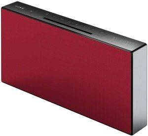 SONY CMT-X3CD HI-FI SYSTEM WITH BLUETOOTH RED