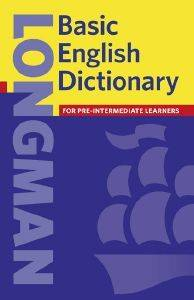 LONGMAN BASIC ENGLISH DICTIONARY INTERMEDIATE