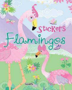 FLAMINGOS STICKERS