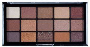 ΠΑΛΕΤΑ ΣΚΙΩΝ MUA  PRO EYESHADOW PALETTE - AU NATUREL