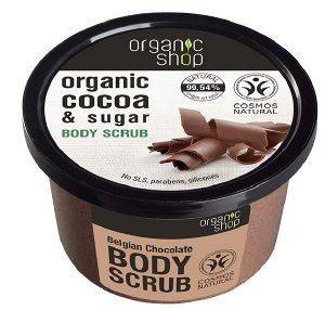 SCRUB ΣΩΜΑΤΟΣ NATURA SIBERICA BELGIAN CHOCOLATE 250ML