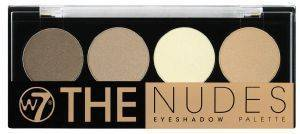ΠΑΛΕΤΑ ΜΕ ΣΚΙΕΣ W7 THE NUDES EYESHADOW PALETTE 4X1.4GR