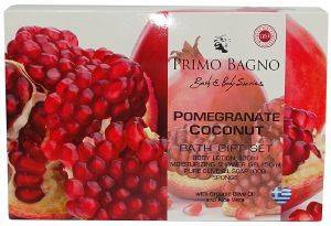 ΣΕΤ ΔΩΡΟΥ PRIMO BAGNO POMEGRANATE COCONUT 4ΤΜΧ