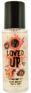 BODY MIST SHIMMER W7 LOVED UP 75ML