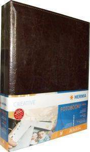 HERMA 7557 PHOTOBOOK 240 CLASSIC BROWN