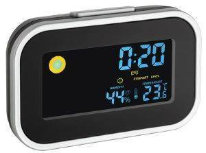 TFA 60.2015 ALARM CLOCK WITH INDOOR CLIMATE