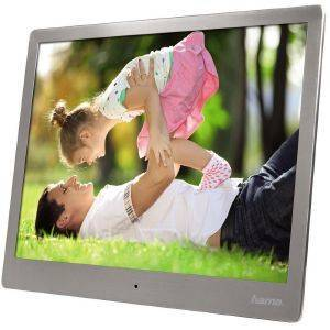 HAMA 95276 STEEL PREMIUM DIGITAL PHOTO FRAME 10''