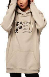 HOODIE SUPERDRY ANA W2000005A ΜΠΕΖ (S)