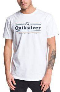 T-SHIRT QUIKSILVER GET BUZZY EQYZT05483 ΛΕΥΚΟ