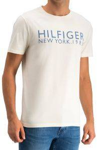 T-SHIRT TOMMY HILFIGER NEW YORK LOGO UM0UM01172/142 ΜΠΕΖ (L)