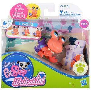 LITTLEST PET SHOP WALKABLES 2313 HERMIT CRAB