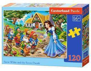 SNOW WHITE AND THE SEVEN DWARFS CASTORLAND 120 ΚΟΜΜΑΤΙΑ