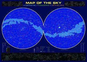 MAP OF THE SKY RICORDI 1000 KOMMATIA