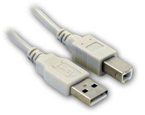 USB 2.0 CABLE A MALE-B MALE 3M