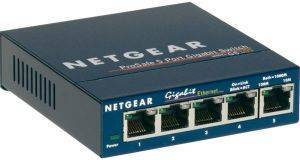 NETGEAR GS105GE 5-PORT GIGABIT SWITCH