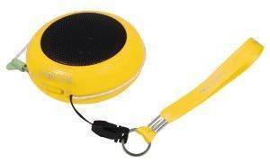 LOGILINK SP0017 MINI HAMBURGER SPEAKER YELLOW