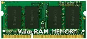 KINGSTON KVR13S9S6/2 2GB SO-DIMM DDR3 PC3-10600 1333MHZ VALUE RAM