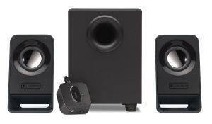 LOGITECH Z213 MULTIMEDIA SPEAKERS 2.1 BLACK