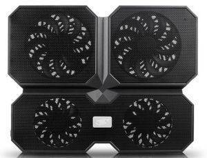 DEEPCOOL MULTICORE X6 DUAL 140MM + DUAL 100MM NOTEBOOK COOLER 15.6'' BLACK
