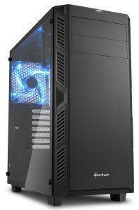 CASE SHARKOON AI7000 GLASS BLACK