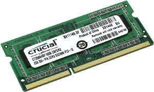 RAM CRUCIAL CT25664BF160B 2GB SO-DIMM DDR3 1600MHZ