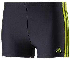 ΜΑΓΙΟ ADIDAS PERFORMANCE INFINITEX 3-STRIPES BOXERS ΓΚΡΙ/ΚΙΤΡΙΝΟ