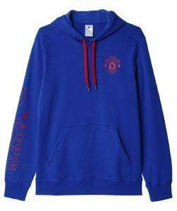 ΦΟΥΤΕΡ ADIDAS PERFORMANCE MAN U FC HOOD ΜΠΛΕ