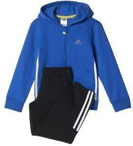 ΦΟΡΜΑ ADIDAS PERFORMANCE ESSENTIALS HOJO TRACK SUIT ΜΠΛΕ/ΜΑΥΡΗ