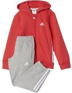 ΦΟΡΜΑ ADIDAS PERFORMANCE ESSENTIALS HOJO TRACK SUIT ΚΟΡΑΛΙ/ΓΚΡΙ