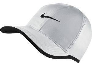 ΚΑΠΕΛΟ NIKE COURT AEROBILL FEATHERLIGHT TENNIS CAP ΛΕΥΚΟ