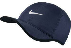 ΚΑΠΕΛΟ NIKE COURT AEROBILL FEATHERLIGHT TENNIS CAP ΜΠΛΕ ΣΚΟΥΡΟ