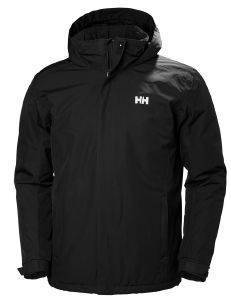 ΜΠΟΥΦΑΝ HELLY HANSEN DUBLINER INSULATED JACKET ΜΑΥΡΟ (XL)