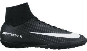 ΠΑΠΟΥΤΣΙ NIKE MERCURIALX VICTORY VI DYNAMIC FIT TF ΜΑΥΡΟ