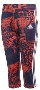 ΚΟΛΑΝ 3/4ADIDAS PERFORMANCE GEAR UP TIGHT ΚΟΡΑΛΙ/ΜΩΒ (146 CM)